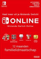 Nintendo digitaal 12 Maanden Online Familie Lidmaatschap - Nintendo Switch