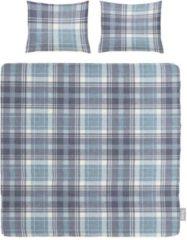 Blauwe ISeng Nicky - Dekbedovertrek - Lits-jumeaux - 240x200/220 cm + 2 kussenslopen 60x70 cm - Blue