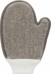 Merkloos / Sans marque Cuff Bath Glove - Taupe - Bath and Shower - taupe - Discreet verpakt en bezorgd