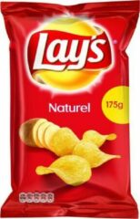 Lay's Chips Naturel - 8 x 175 gram.