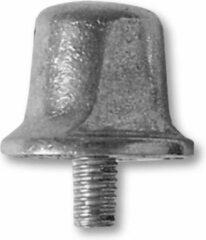 Grijze Sportec Aluminium Voetbalnoppen 13/16 Mm 12 Stuks