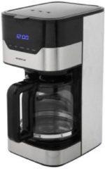 Inventum KZ712D koffiezetapparaat Vrijstaand Filterkoffiezetapparaat Zwart, Roestvrijstaal 12 kopjes