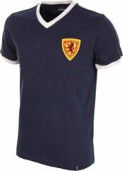 Blauwe Copa Retro shirt Schotland 1960's maat XL
