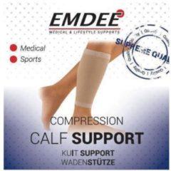 Emdee Elastische ondersteuning kuit huidskleur maat S 1 Stuks