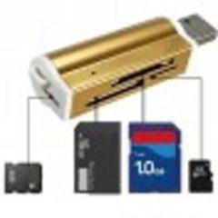 Fabelicious Multifunctionele usb 2.0 geheugenkaartlezer