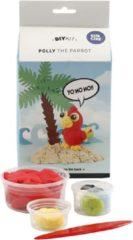 Silk Clay Funny Friends, Polly Parrot, 1set