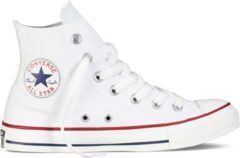 Witte Converse Chuck Taylor All Star Sneakers Hoog Unisex - Optical White - Maat 45