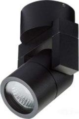 Artdelight - Opbouwspot Single - Zwart - GU10 - IP54 - Dimbaar > spots | spotjes | spotjes plafondlamp | spots verlichting | opbouwspot zwart | wandlamp zwart | plafondlamp zwart