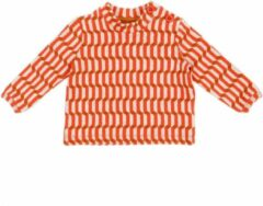 Oranje Lily Balou Baby Tshirt Francis Blocks Red - 68