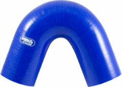 Samco Sport Samco Siliconen slang 135 graden bocht - Lengte 125mm - Ø80mm - Blauw