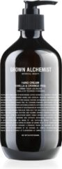 Grown Alchemist Hand Cream: Vanilla & Orange Peel 500 ml