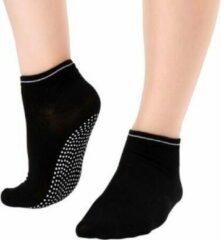 Merkloos / Sans marque Antislip yogasokken, ook voor pilates of andere sporten - dichte tenen - zwart