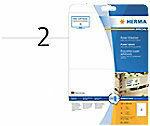 Herma 10910 Etiketten 210 x 148 mm Papier Wit 50 stuk(s) Permanent Zelfklevende etiketten, Universele etiketten Inkt, Laser, Kopie 25 vel DIN A4