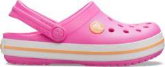 Crocs Instappers - Maat 27/28 - Unisex - roze/wit/oranje