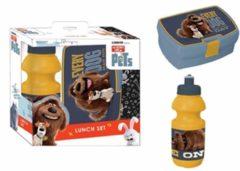 The Secret Life of Pets The Secret Life op Pets Every Dog Has HIs Day - Set Lunchbox en Bidon - Multi