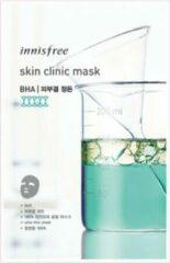 Witte Innisfree Skin Clinic Mask – BHA (3 stuk gezichtmasker)