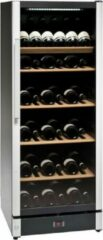 Zwarte Vestfrost Solutions WB155 - Wijnkoelkast - 147 flessen