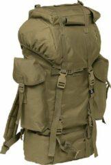 Brandit Nylon Military Backpack olive camo