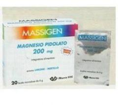 Marco viti farmaceutici Massigen magnesio pidolato 20 bustine