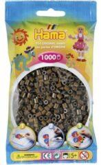 Bruine Hama midi Strijkkralen 0012 choco 1000 stuks