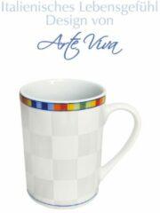 Set van 6 koffiemokken Venezia Arte Viva multicolor