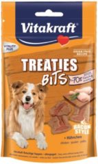 Vitakraft Treaties Bits 120 g - Hondensnacks - Bacon&Kip - Hondenvoer
