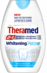 Theramed 2 In 1 Power Whitening Tandpasta 12 Pack (12x75ml)