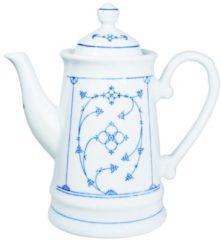 Kaffeekanne Blau Saks Kahla Weiß