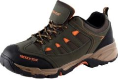 HSM Schuhmarketing TREKK STAR Herren Outdoorschuhe, Braun/Orange/43 /Braun/orange