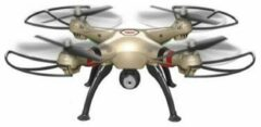 Quad-Copter SYMA X8HC 2.4G 4-Channel with Gyro + Camera (Gold) - Syma