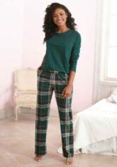 Groene LASCANA pyjama in klassiek model
