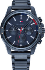 Tommy Hilfiger TH1791789 Horloge - Staal - Blauw - Ø 44 mm