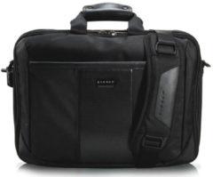 """Zwarte Everki Versa Premium Laptop Briefcase 16"""" Black"""