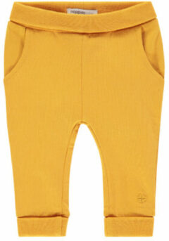 Gele Noppies unisex Pants jersey reg Humpie - Honey Yellow - Maat 44