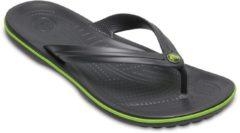 Crocs Crocband Flip slippers Slippers - Maat 43/44 - Unisex - grijs/groen