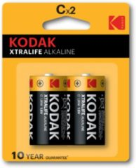 Kodak Xtralife Alkaline battery C LR6 Blister of 2