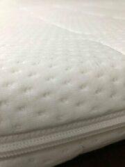 Witte **** Hotel matras Topper - 160x200 - 7 cm hoog - ****Hotel Topdekmatras Comfortfoam