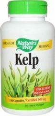 Natures way Kelp 600 mg (180 Capsules) - Nature's Way
