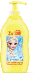 Zwitsal Shampoo Anti-klit met pompbediening FROZEN (1 Fles van 400 ml)