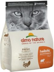 Almo Nature Holistic Kattenvoer Kalkoen&Rijst 2 kg