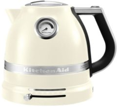 Creme witte Kitchen Aid KitchenAid 5KEK1522EAC Waterkoker - Crème