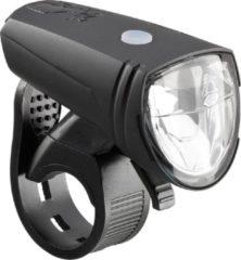 Groene AXA LED Koplamp Greenline Fietsverlichting - USB Oplaadbaar - 25 Lux - Zwart