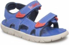 Blauwe 87931_2500 Timberland Perkins Row 2-Strap Jongens Sandalen - Nebulas Blue - Maat 31