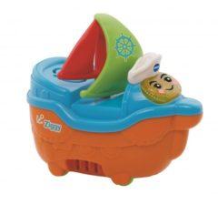 Blauwe VTech Baby Blub Blub Bad Zeilboot - Speelfiguur