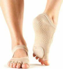 Huidskleurige Toe Sox ToeSox Half Toe Prima Bellarina - Nude