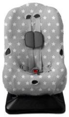 Briljant Baby Autostoelhoes interlock - maat 1 - grijs - dessin Thijs