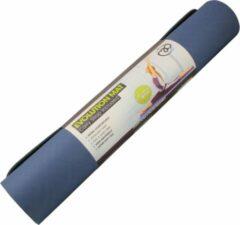 Fitness-Mad yogamat 183 x 60 cm TPE blauw