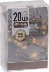 Gele House&Style Lights&Co Ledlampjes voor binnen - 20 lampjes - warm wit