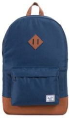 Blauwe Herschel Supply Co. Heritage Rugzak navy/tan Laptoprugzak