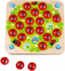 Tooky Toy Memoryspel Lieveheersbeestje Junior Hout 27-delig